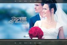 Wedding Web Templates / Wow - that's a Day! Choose from photo gallery or facebook page to online store with dresses or wedding cards. Wordpress, Magento, OpenCart - you choose.