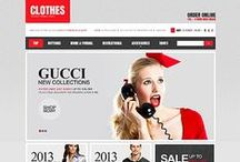 Fashion Web Templates / Web Premium Templates in Fashion Department. Design Needs Time - Get Template Espresso! WebDesign inspirations at your coffee break: browse for more website templates!