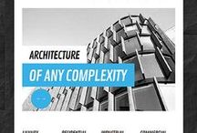 Architecture Web Templates / Design Needs Time - Get Template Espresso! WebDesign inspirations at your coffee break: browse for more website premium templates!