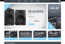 Electronics Web Templates / Design Needs Time - Get Template Espresso! WebDesign inspirations at your coffee break: browse for more website premium templates!