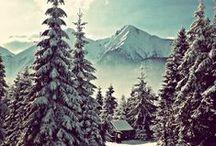 Hory v zime / Jeden z najkrajších pohľadov je na zasnežené kopce. Tu ich nájdete habadej :)