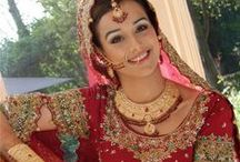 Indian Wedding Dress / Samples to check color combinations and marriage dresses of celebrities to plan ones wedding