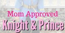 Knight and Prince Birthday Party Ideas / A collection of some of our favorite Mom Approved knight and prince inspired birthday party and shower ideas and crafts.