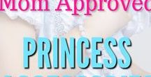 Mom Approved Princess Accessories / Cute princess and everyday fun accessories for girls: jewelry, bows and more.
