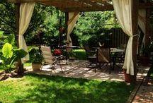 pergoly, verandy