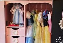 Organized! / Organizing a home and dressups can sometimes be a challenge - here is some inspiration to get it under control!