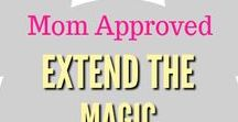 Extend the Disney Magic / Some of our favorite Mom Approved Ways to extend that Disney Magic.