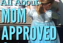About Us - Mom Approved Costumes / Mom Approved Costumes offers Machine Washable Costumes and Dressups for children.  Many are princess themed and Disney inspired perfect for a trip to Disney.