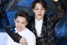 KAISOO❤️ / 12+88= <3  Kim Jongin and Do Kyungsoo from EXO!~  It's real for me.. OTP❤️
