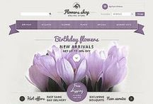 Flowers Web Templates / Design Needs Time - Get Template Espresso! WebDesign inspirations at your coffee break: browse for more website premium templates!
