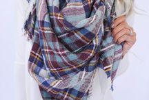 Clothes ~ big scarf