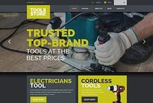 Tools & Equipment Web Templates / Design Needs Time - Get Template Espresso! WebDesign inspirations at your coffee break: browse for more Tools & Equipment website templates!