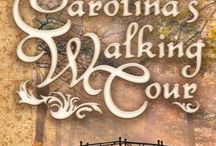 """Carolina's Walking Tour / Illustrations and inspirations of my short Regency novella. """"A grievously wounded Peninsular War veteran and a shy young woman facing a loveless future discover more than the attractions of Bath as they spend their days exploring its streets."""" For more information, go to: http://www.lesleyannemcleod.com"""
