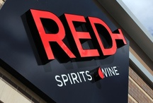 Inside RED / Photos of the RED Spirits & Wine store in Bellevue, TN.