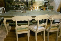 Old Wood Design Tables