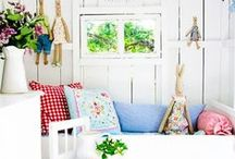 Kids rooms / Kids rooms are the most fun to decorate. Whether you like it neutral and whimsical or colourful and zany, there's something delightfully playful about making a child's space their very own. Find stylish ideas for toy storage, wall treatments, artworks, kids bedding, reading nooks, and more.