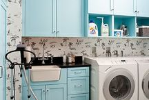 Laundry / The best laundry room decor. Make wash day fun with pretty and functional laundry storage and breezy-clean decorating ideas. Sort, wash, dry, fold, repeat!
