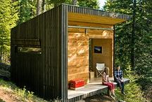 Tiny Houses, cabins and other small buildings / by Lars Bregendahl Bro