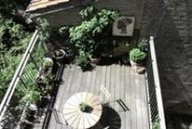 roof terrace - balcony - outdoor lounge - porch - terrace - rooftop garden (altan, tagterrasse, terrasse, gårdhave m.m.)