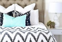 Bedroom / Good night... sleep tight! Make your bedroom a restful sanctuary with these beautiful decorating ideas for the most personal room in your home. Crisp bedding, cozy throws, a soft rug underfoot, tasteful artwork, the glow of a lamp, and a good book to read.