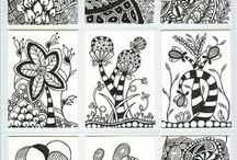ZENTANGLE, DRAWING AND MORE!!!! / draw .....and give colors to life!!!!