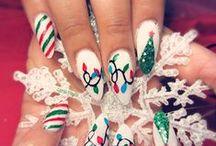 Nails - Christmas.:)