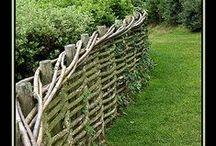 les clôtures jolies