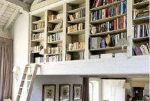 Library room / Close your eyes and imagine the smell of all these books. Think rolling ladders,  bookshelf styling, and DIY built-in bookshelves. Whether you have the space for a library room or just a library nook, books are the soul of a home - so put them somewhere special.