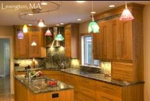 Cherry Wood Cabinet Kitchens / Dream Kitchens, Located in Nashua New Hampshire, Winner of over 200 awards!  / by Dream Kitchens-Kitchen and Bathroom remodeling