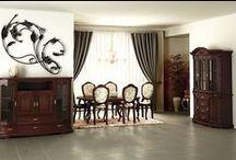 Zestaw stoły i krzesła / Prezentujemy zestawy stołów i krzeseł, które nadadzą wnętrzom niepowtarzalnego stylu. Meble wykonane są z najwyższej jakości drewna, istnieje możliwość wyboru tapicerki krzeseł. Zestaw idealne na uroczystości rodzinne, święta etc. Więcej na: http://www.meblemix.pl/zestaw-stoly-i-krzesla/
