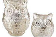 Owls Of All Kinds! / Owls are almost my favorite feathered fowl. I love the way their hoot sounds in the night, and I love the way they silently soar during flight. These are awesome owl objects to create some day. / by suzanne Allen