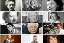 Women in Science / Celebrate wonderful women in #science and what they have brought to the world. #Women have played a huge role in the advancement of science and #technology, but they do not have enough recognition for their work. Cheers to the beautiful, intelligent women below.