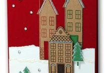 Holiday Home - Discontinued / Cards & Projects created by Cheryll using the Stampin' Up! Holiday Home Polymer Stamp Set.