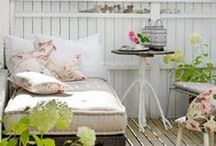 DECO - Terrace, Balcony / Great ideas for small and big terraces