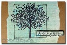 Sheltering Tree / Cards created by Cheryll with the Sheltering Tree Stamp Set from Stampin' Up!®