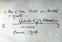 Citazioni e poesie D'Annunzio / Aforismi, citazioni, poesie di Gabriele D'Annunzio