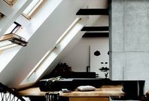 Living Rooms / Relaxing and comfortable living rooms filled with light.