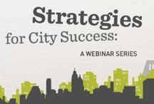 CEOs for Cities Content / Samples of our Current and Past Blogs, Webinars, Newsletters, and Initiatives