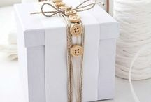 Cadeautjes inpakken / Vele nieuwe maniertjes om van een cadeautje een echt feestje te maken..