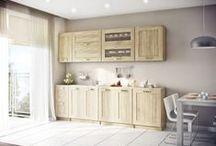 Zestawy kuchenne / Prezentujemy nowoczesne i funkcjonalne zestawy kuchenne. Idealne do małych jak i dużych pomieszczeń.