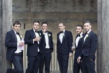 mjp // groomsmen / Slick styling ideas for groomsmen, taken from real weddings photographed by Mark Jay Photography