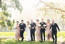 mjp // bridal party / Bridal party posing and styling inspiration, taken from the archives of Mark Jay Photography