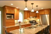 Small Kitchens / Dream Kitchens, Located in Nashua New Hampshire, Winner of over 200 awards!  / by Dream Kitchens-Kitchen and Bathroom remodeling