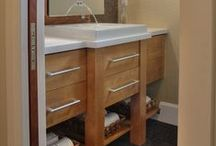 Small Bathrooms / Dream Kitchens, Located in Nashua New Hampshire, Winner of over 200 awards!  / by Dream Kitchens-Kitchen and Bathroom remodeling