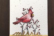 Joyful Season - Discontinued / Projects created by Cheryll using Stampin' Up! Joyful Season Stamp Set
