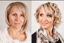"""Before & After Make-up / Vorher und Nachher / Before & After / Vorher und Nachher Make-Up Fotos """"Make-Up Before & After"""" Wunderbare Verwandlungen! Mehr ist nicht nötig, um wirklich jede Frau zu einer Beauty-Queen zu machen. Melden Sie sich an! Ich kann Ihre Augen wunderschön hervorheben und auch reizende und sinnliche Lippen schaffen!"""