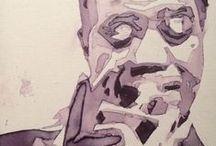 Phil Leclerc / Peintures photos dessins peregrinations & bri-collages perso