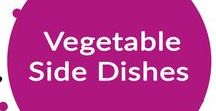 Vegetable Side Dishes {Recipes} / Want to add more veggies to your meals!  Check out all these amazing vegetable side dishes.