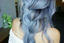 Colorful hair. :3