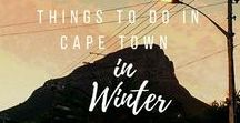 Why I moved to Cape Town / The reasons why I moved to Cape Town are clear: I love it. It doesn't hurt to discover more and more things to do in and around. Come along!